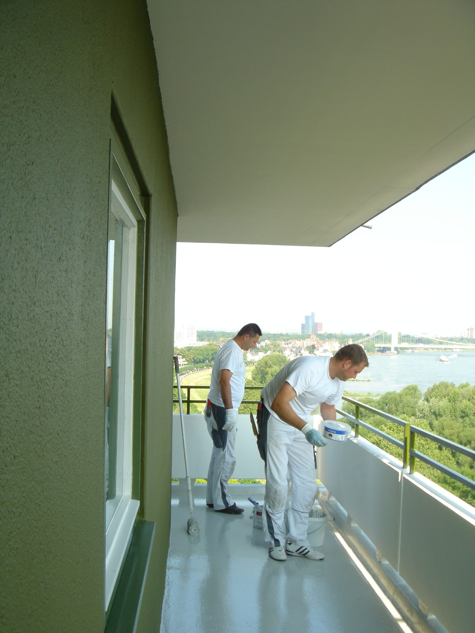 Balkonbodenbeschichtung