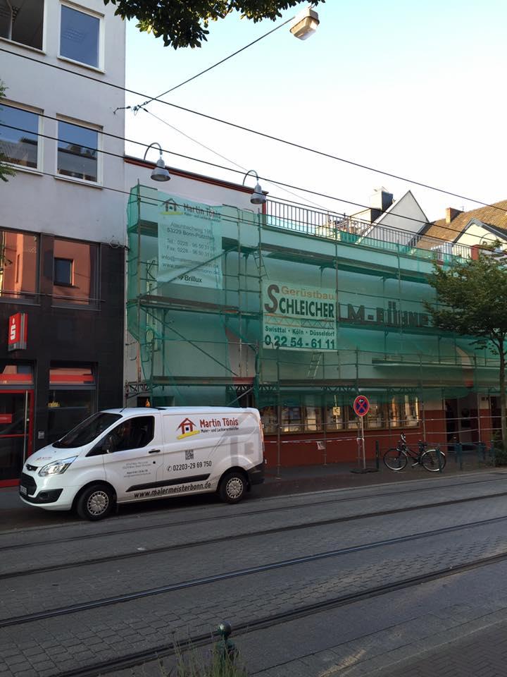 Fassadensanierung Film-Bühne
