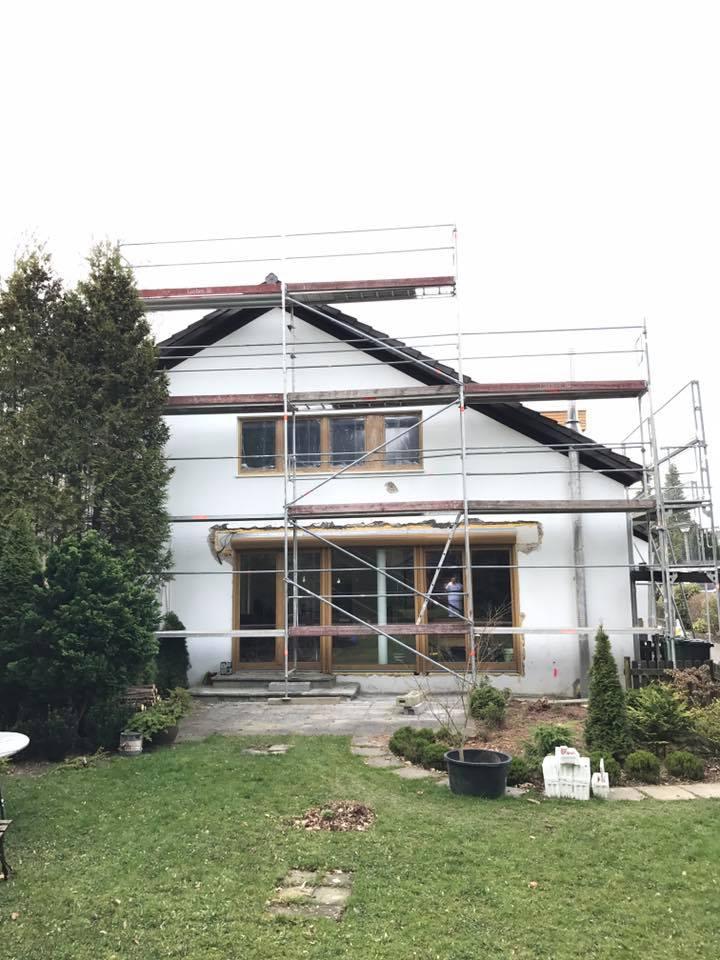 Die erste Fassade in der Saison 2017